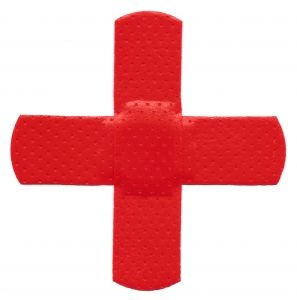 red cross band aid